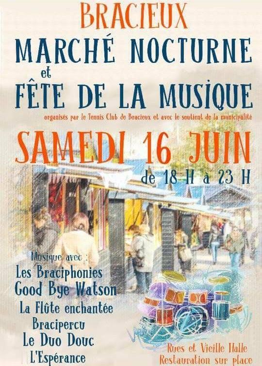 16 juin 2018 Les Braciphonies, Goodbye Watson, La Flute enchantée, Braciperu, le Duo Douc, l'Esperance à Bracieux