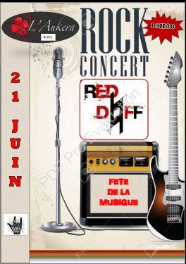 """21 juin 2018 Red Daff à Blois """"Aukera"""""""
