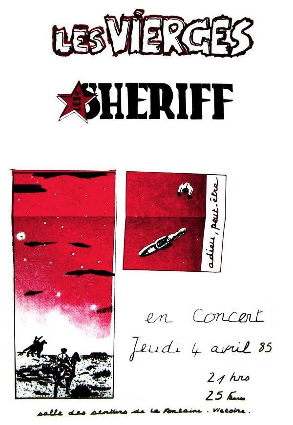 """4 avril 1985 Les Vierges, Sheriff à Montpellier """"Victoire"""""""