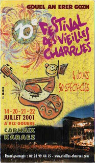 14 juillet 2001 à Carhaix