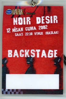 "12 Avril 2002 Noir Desir à Istanbul ""Venue Maslak"""