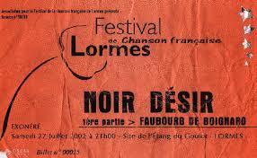 """27 juillet 2002 Noir Desir, Faubourg de Boignard à Lormes """"Site de l'Etang du Goudet"""""""