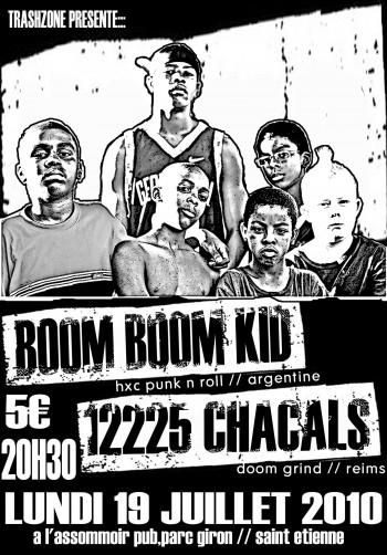 """19 juillet 2010 Boom Boom Kids, 12225 Chacals à Saint-Etienne """"L'Assommoir"""""""