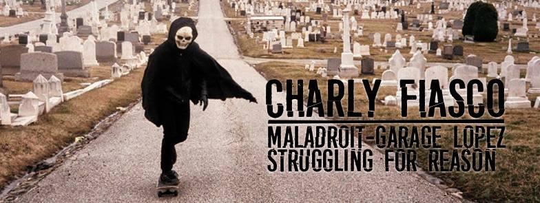 "2 mars 2017 Charly Fiasco, Maladroit, Garage Lopez, Struggling For Reason à Paris ""la Mecanique Ondulatoire"""