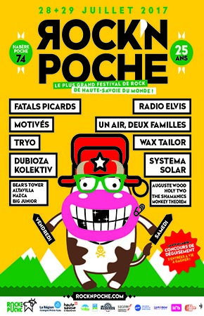 29 juillet 2017 Radio Elvis, Un Air, Deux Familles, Wax Tailor, Systema Solar, Auguste Wood, Holy Two, The Shamanics, Monkey Theorem à Habere Poche
