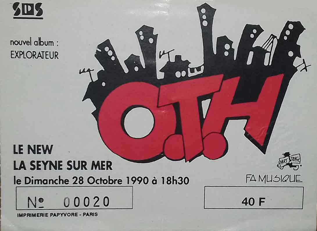 """28 octobre 1990 OTH à La Seyne Sur Mer """"le New"""""""