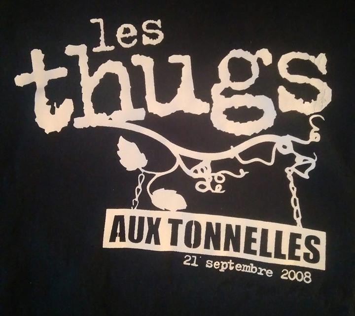 """21 septembre 2008 Les Thugs à Béhuard """"les Tonnelles"""""""