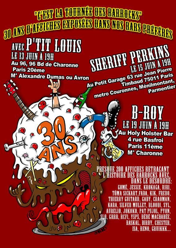 """13 juin 2015 P'tit Louis à Paris """"Au 96"""""""