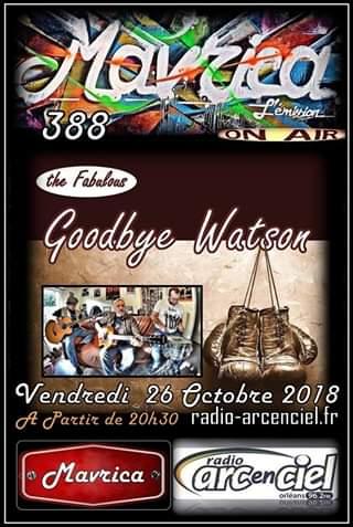 """26 octobre 2018 Goodbye Watson à Fleury les Aubrais """"Mavrica"""""""