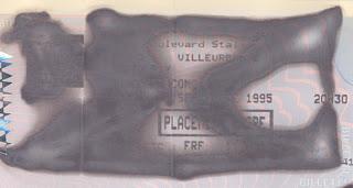 Septembre 1995 Green Day à Villeurbanne