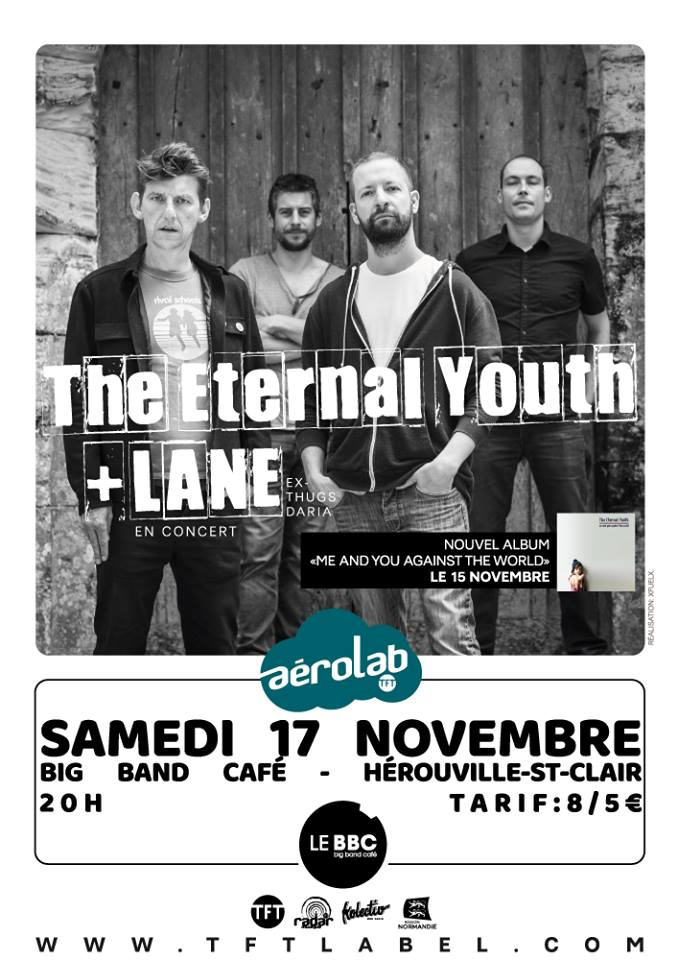 "17 novembre 2018 the Eternal Youth, Lane à Herouville Saint Clair ""Big Band Café"""