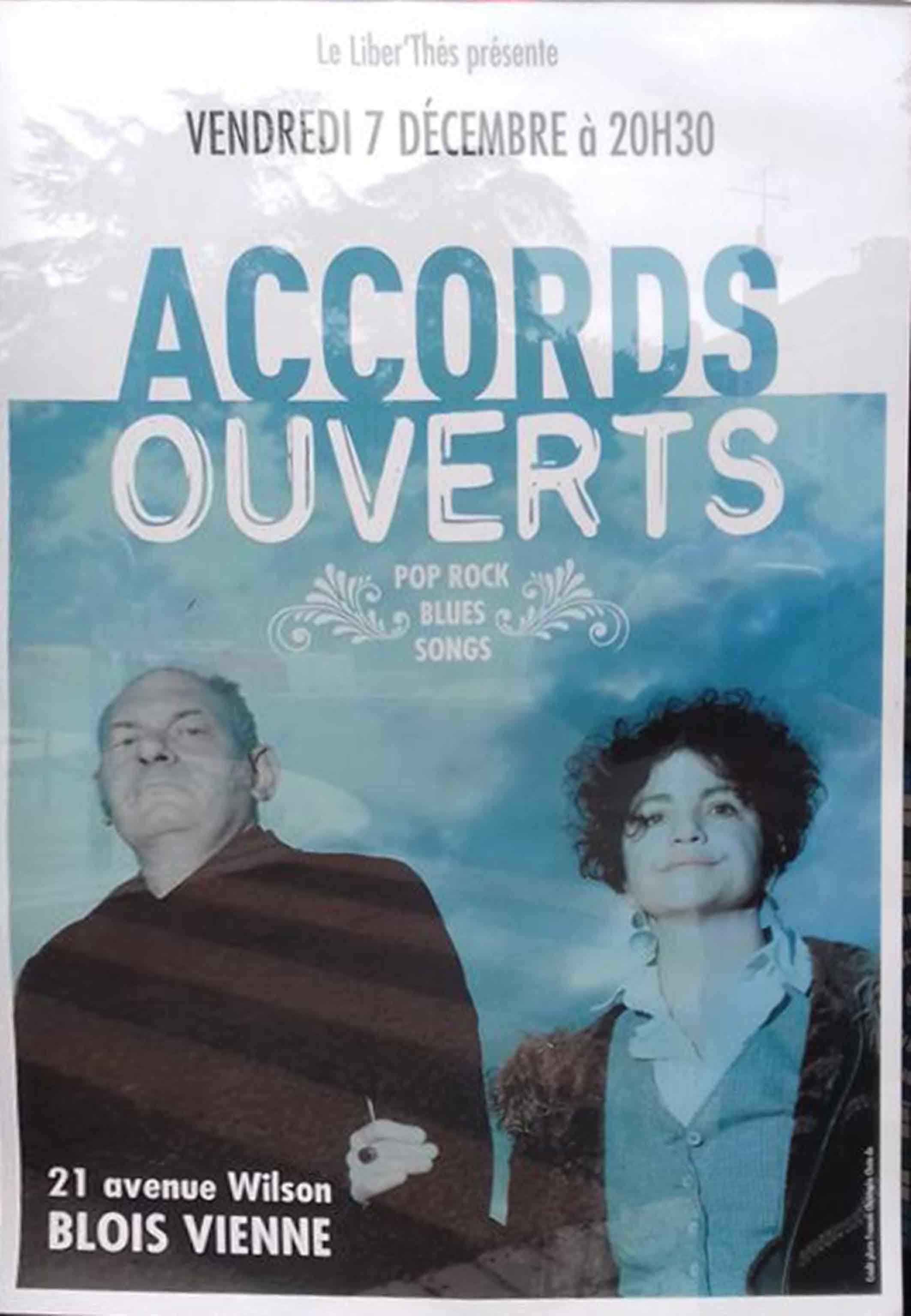 """7 decembre 2018 Accords Ouverts à Blois """"Liber'Thes"""""""