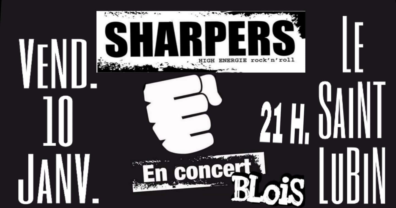 """10 janvier 2020 Sharpers à Blois """"le Saint Lubin"""""""